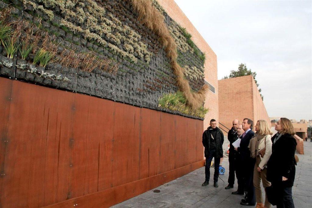 jardin vertical alcobendas