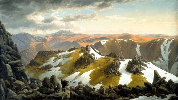 Monte Townsed, Eugene von Guerard
