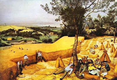 Los cosechadores, Pieter Brueghel