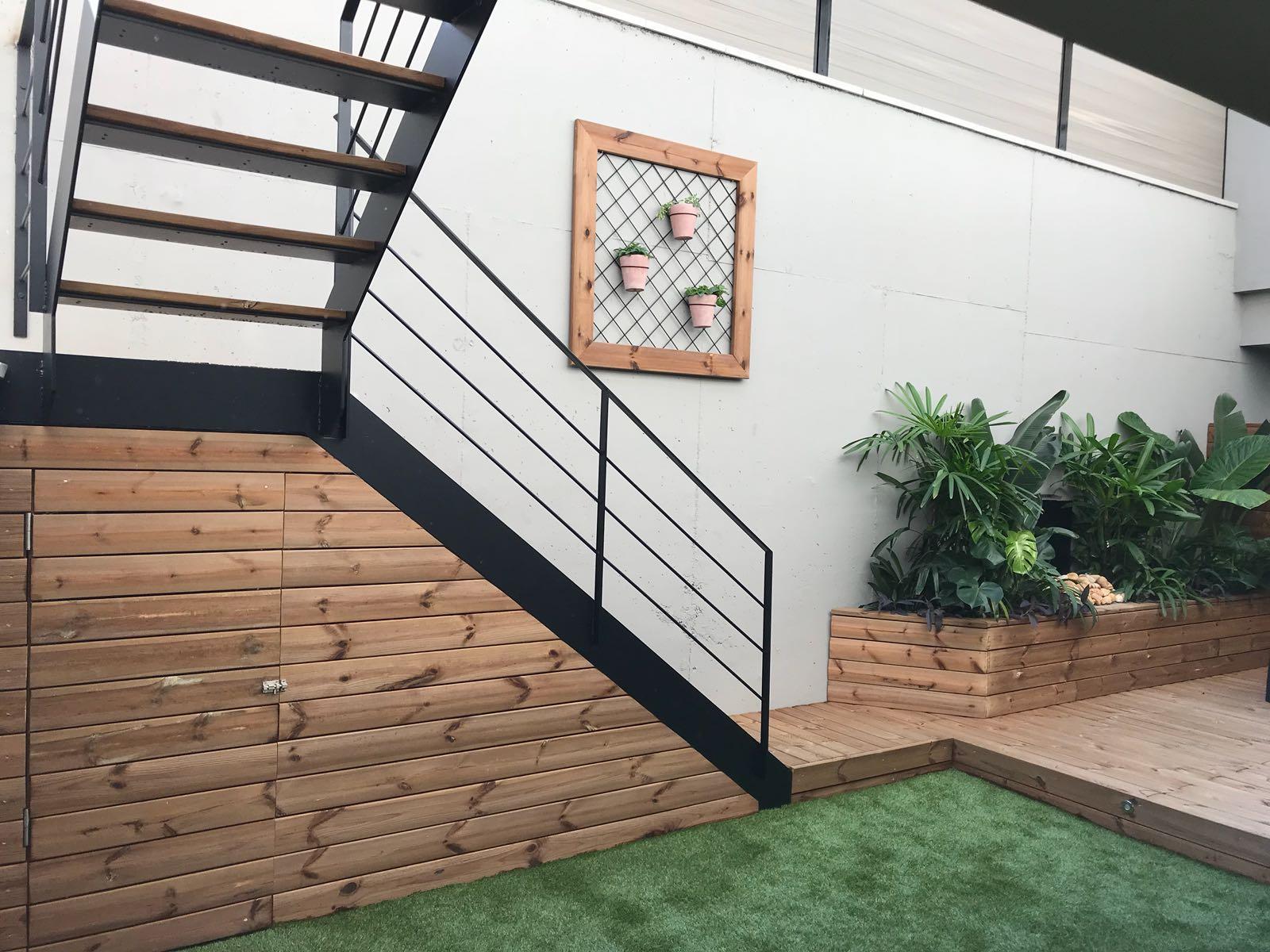 diseño y reforma de jardin